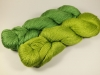 Fyberspates Scrumptious 4ply - Farbe: Jens Green und Key Lime